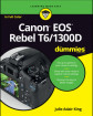 Canon EOS Rebel T6/1300D For Dummies