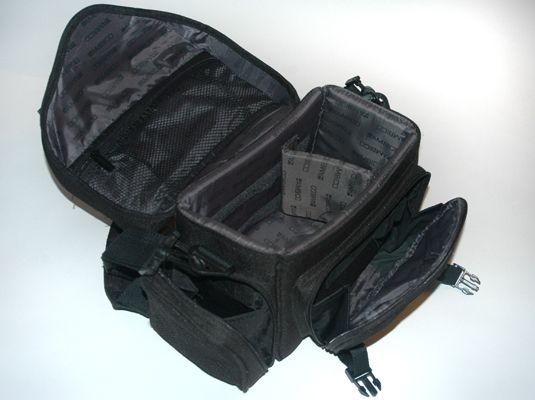 You can get high-end camera cases and camera bags like these at a camera store.