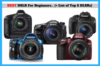 Final Guide To The Best DSLR Camera For Beginners (+a List Of Top 5 DSLRs)