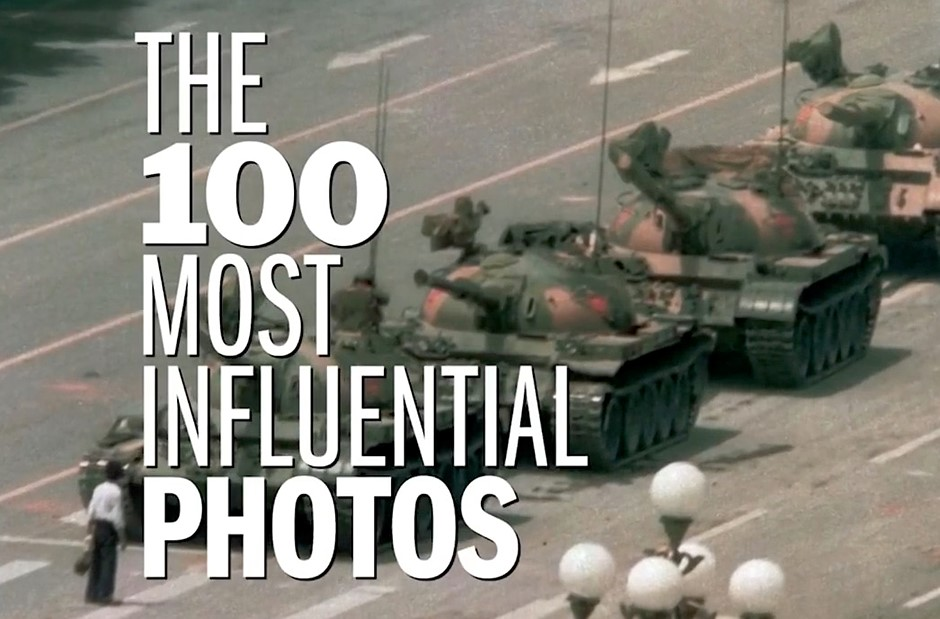 TIME releases 100 most influential images of all time