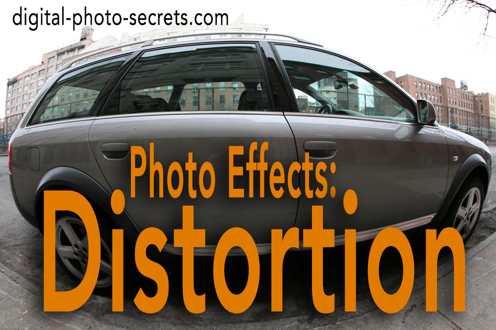 Photo Effects: Distortion