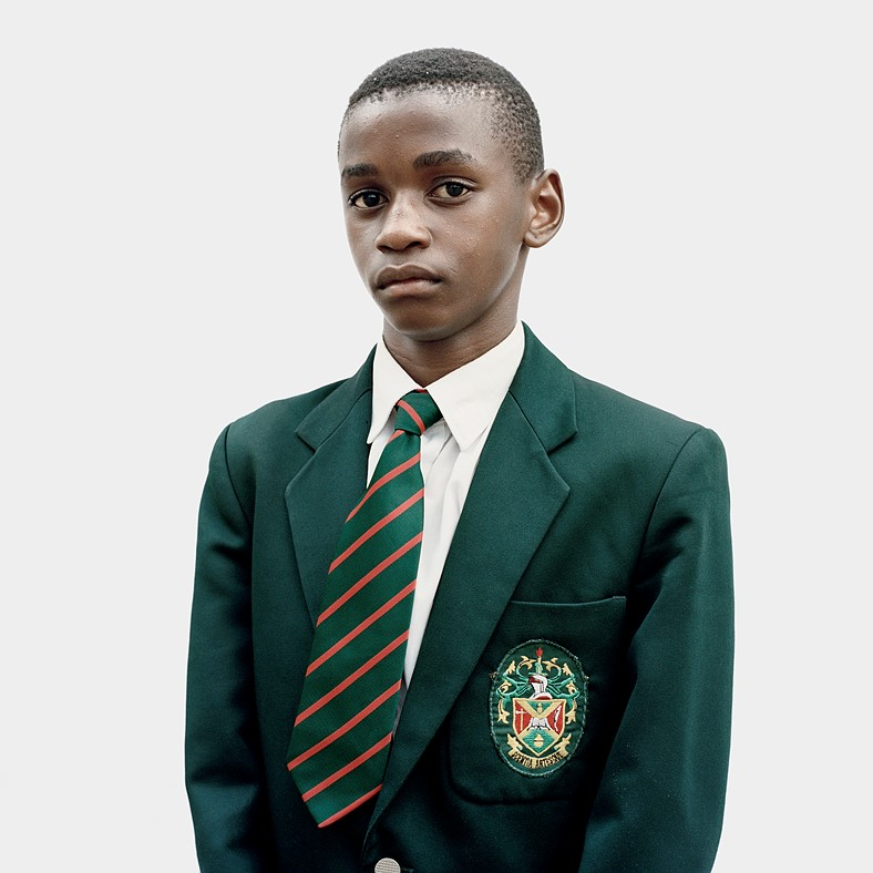 Picture of school boy in uniform wins Swiss photographer £15,000 Taylor Wessing prize